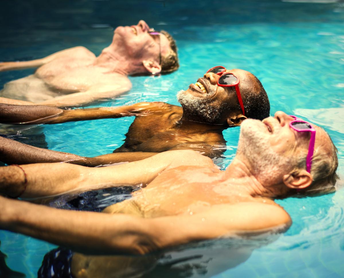 basen dla seniora