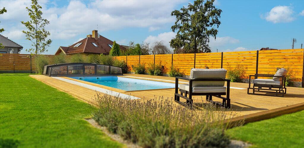 Budowa basenu ogrodowego jesienią to niższe koszty i mniej przypadku