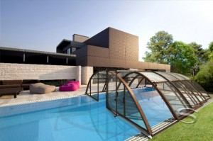 zadaszenia do basenow, zadaszenia basenowe, klasik-exelance, baseny ogrodowe,